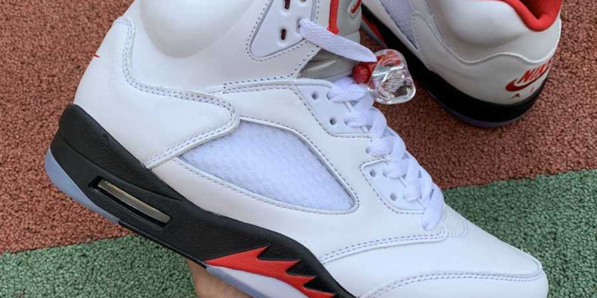 "New Air Jordan 5 ""Fire Red"" To Release On April 25th"